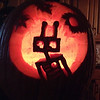 Hannah's robot/team pumpkin contest entry